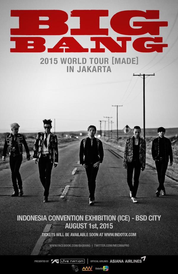Akankah BIGBANG Release Series E Saat di Indonesia?
