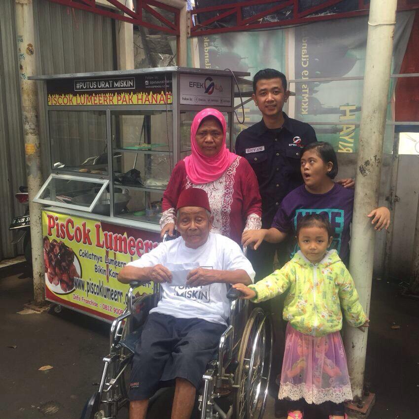 Kekuatan Patungan Online: Kursi Roda Untuk Hanafi