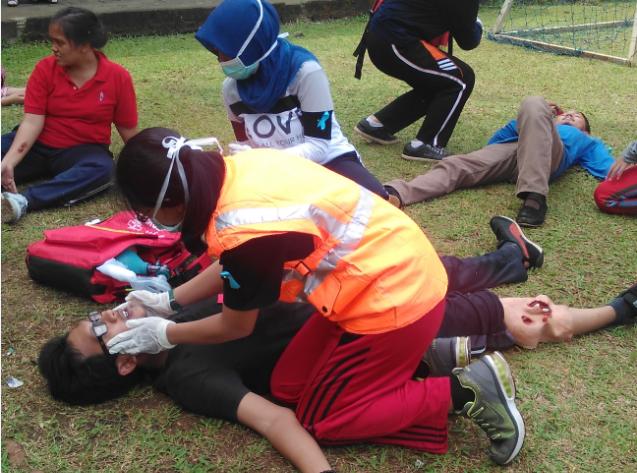Simulasi Matra, Antisipasi Mahasiswa terhadap Bencana