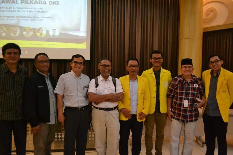 Partisipasi Publik Dalam Pengawalan Pilkada DKI Jakarta