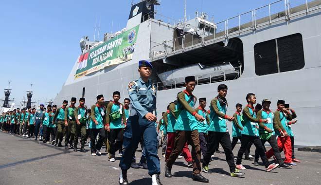 Keikutsertaan UPNVJ dalam Pelayaran Kebangsaan Bela Negara