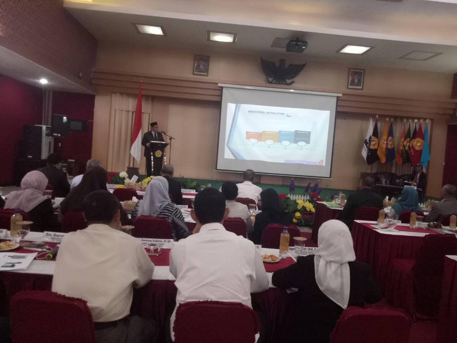 Calon Rektor UPNVJ Abdul Halim: UPNVJ Menghadapi Revolusi Industri 4.0