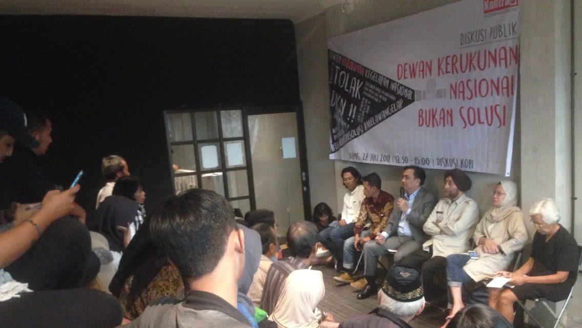 Pembentukkan Dewan Kerukunan Nasional, Aktivis HAM: Kita Sepakat Menolak