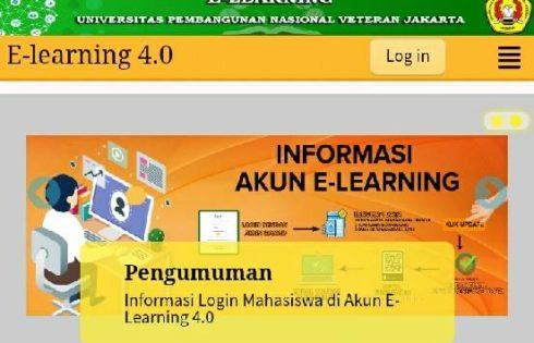 Wajah Baru Sistem E-learning UPNVJ Masih dalam Pengembangan