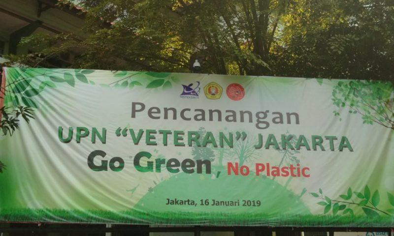 Program Go Green Masih Banyak Celah, Rektor: Masih Pengenalan