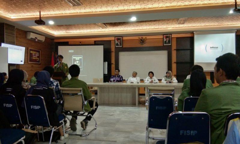 Baru Dilantik, Dekan FISIP Siap Tampung Aspirasi Mahasiswa