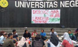 Mengulik Sengkarut UNJ dalam Buletin Haluan Mahasiswa