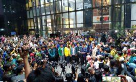 Tolak Revisi UU KPK dan Capim Bermasalah, Mahasiswa Aksi Penuhi Gedung KPK