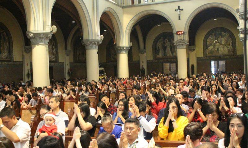 Perayaan Natal 2019, Gereja Katedral Tekankan Tajuk Kebangsaan dan Persaudaraan